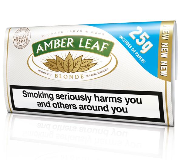 Amber leaf turns blonde scottish local retailer magazine for Amber leaf