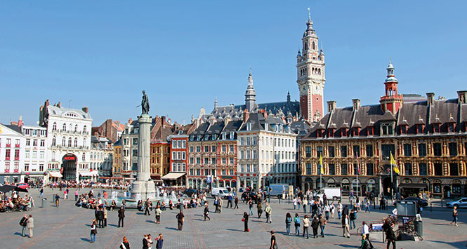 Lille main square