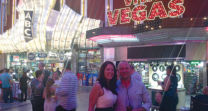 The Casanatos in Las Vegas