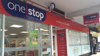 One Stop store exterior