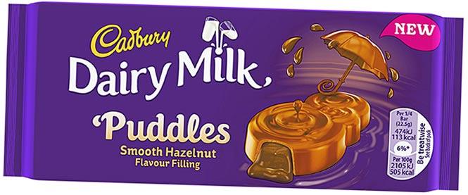 Cadbury Dairy Milk Puddles