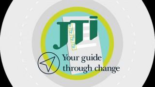 JTI's Your Guide Through Change logo