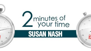 2 minutes of your time: Susan Nash