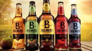 Bulmers cider range