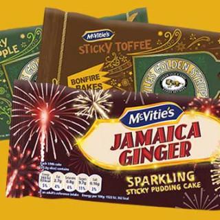 McVitie's Bonfire Bakes range