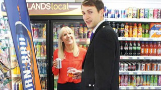 Irn-Bru Xtra sampling event