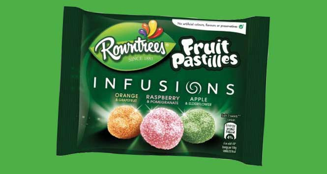 Rowntree Fruit Pastilles Infusions