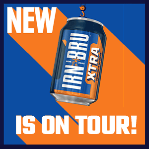 Irn-Bru Xtra is on tour!