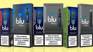 Blu vaping products