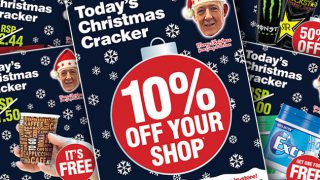 Woodlands Local Christmas Cracker posters