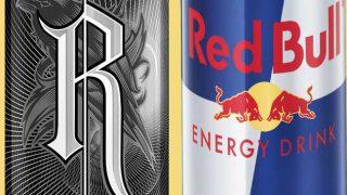 Relentless and Red Bull energy drinks