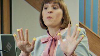 Hula Hoops on fingers