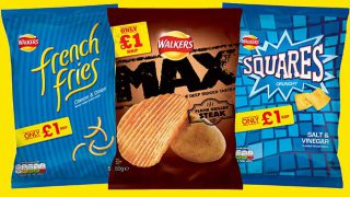 Walkers £1 PMP range