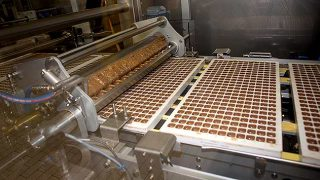 Cadbury production line