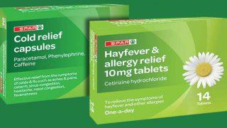 Spar cold relief capsules