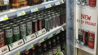 Diageo pre-mix cans