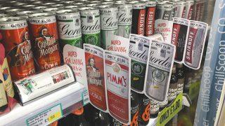Diageo premix cans