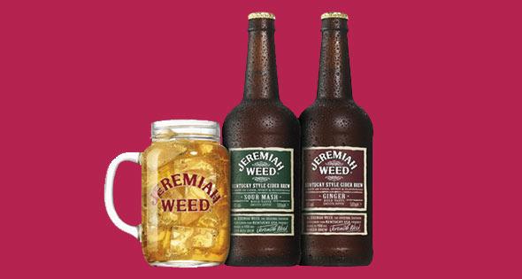 Bottles of Jeremiah Weed