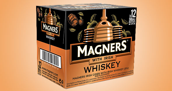 Case of Magners with Irish Whiskey