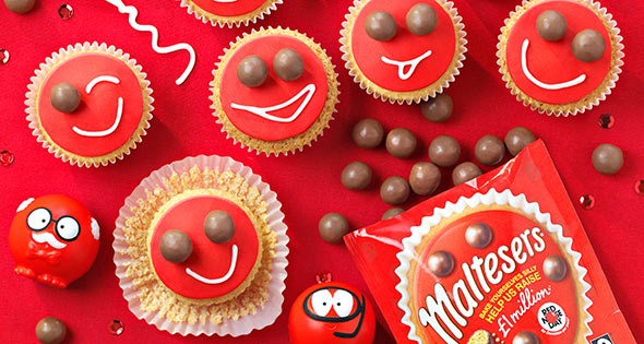 Red Nose Day Malteser Cake Recipe