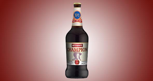 Bottle of McEwans Champion beer