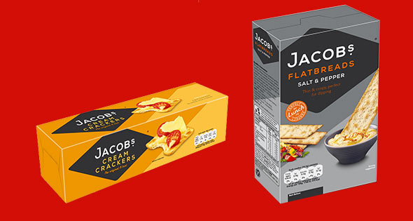 Jacob's Cream Crackers and Flatbreads
