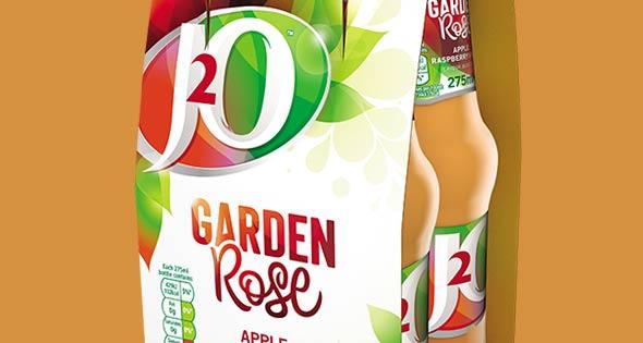 J20 Garden Rose flavoured water