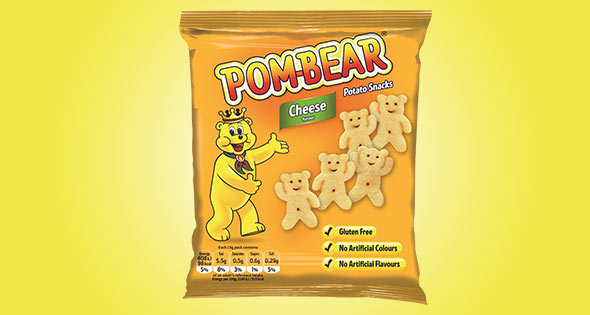 Pack of Pom-Bear Cheese flavour