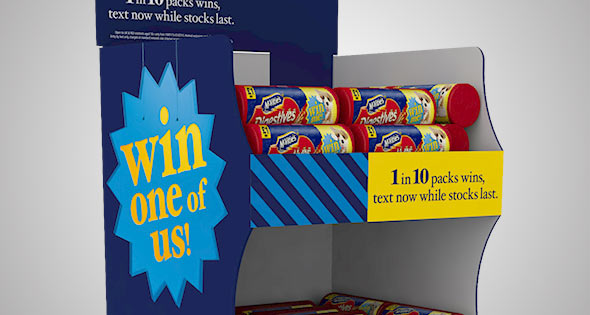 McVitie's display stand