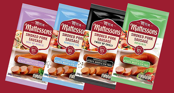 Mattessons smoked sausages