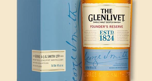 Bottle of Glenlivet Founder's Reserve