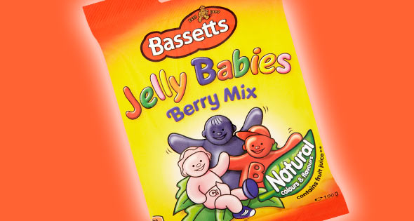 Pack of Berry Mix Jelly Babies