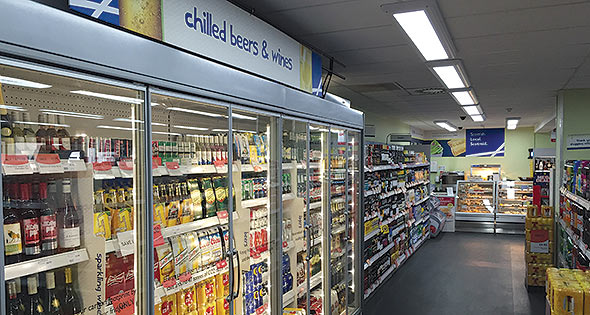 Chiller cabinets