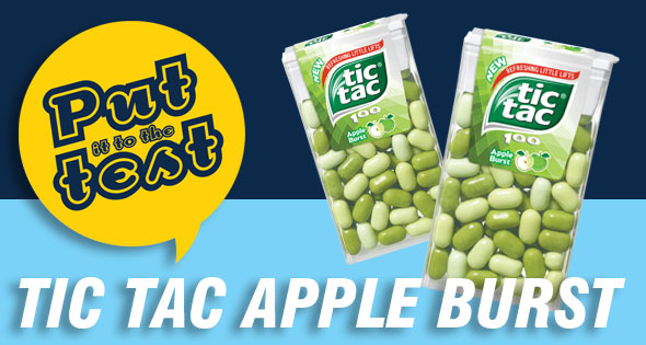 Tic Tac Apple Burst