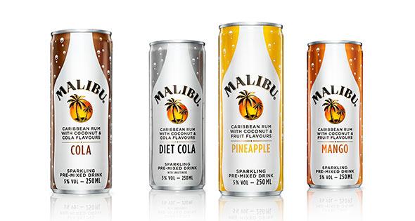 Malibu premixed range