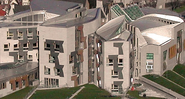 Scottish Parliament building