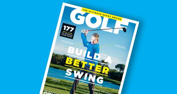 """Build a better swing"" magazine"