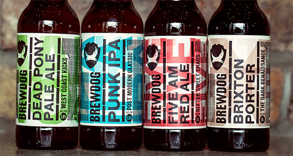 Brewdog's range of beers