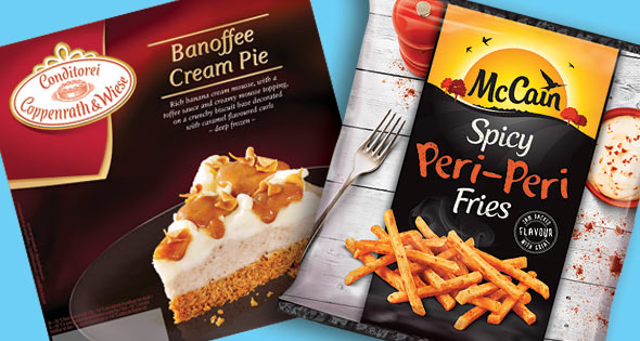 Banoffee Pie and Peri-Peri Fries