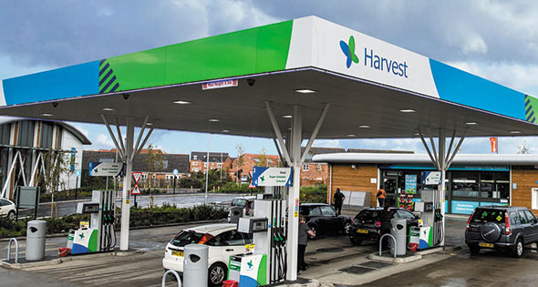 Harvest Retail petrol station