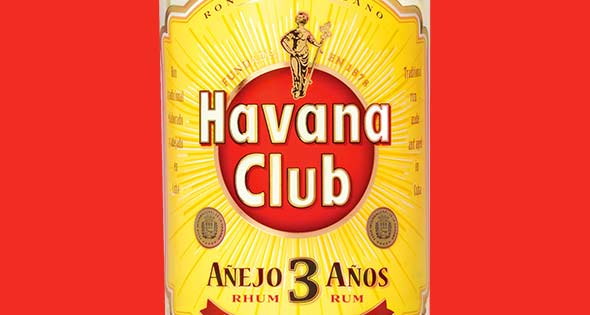Bottle of Havana Club