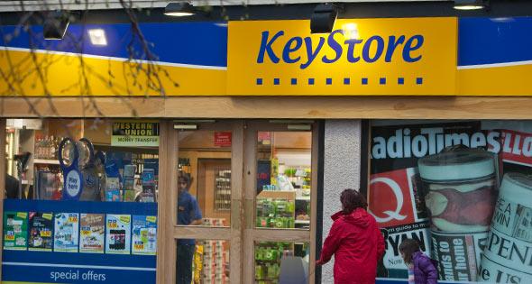 Keystore storefront