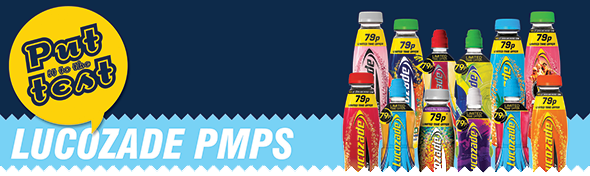 Lucozade PMPs