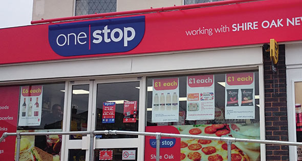 One Stop storefront