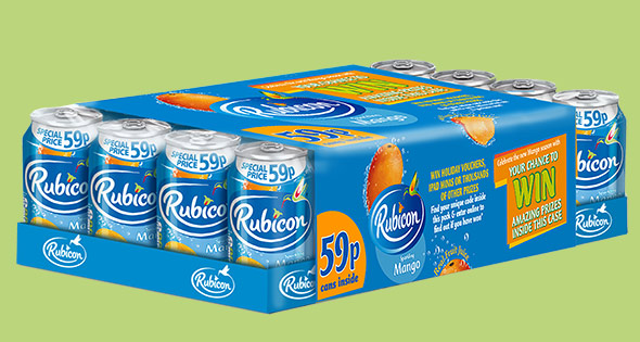 Cans of Rubicon