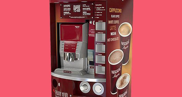 Nestl 233 Professional Brews Up New Coffee Machine Scottish