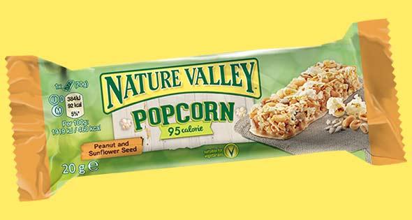 Nature Valley popcorn bar