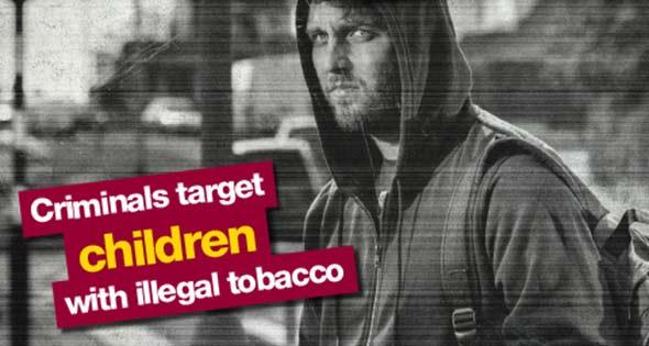 Illicit tobacco seller outside school