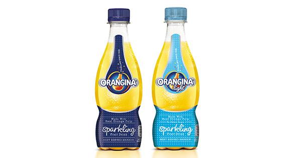 New Orangina range