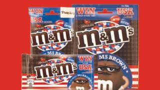Ms Brown M&M's packs